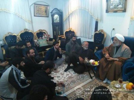 جلسه خانوادگی اعضای هیأت محبین آل طاها با حجتالاسلام مرتضی آقاتهرانی