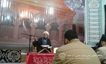 مراسم هفتگی هیئت به یاد آتش نشانان شهید حادثه اخیر  تهران برگزار شد